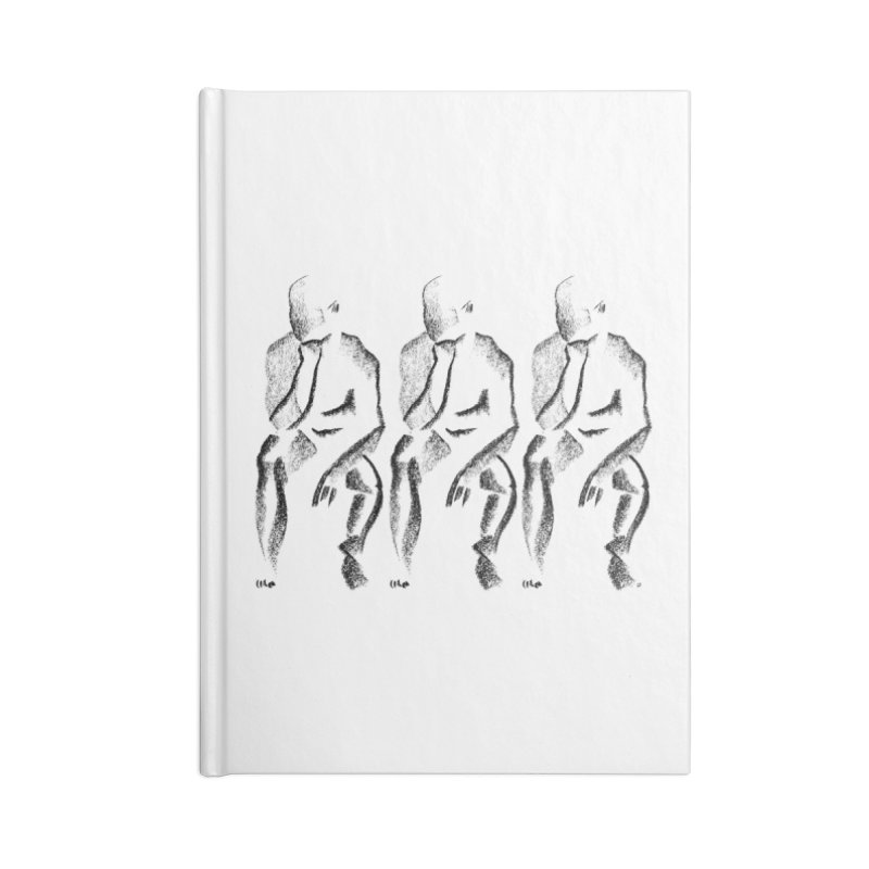 Waiting Accessories Notebook by Laura OConnor's Artist Shop