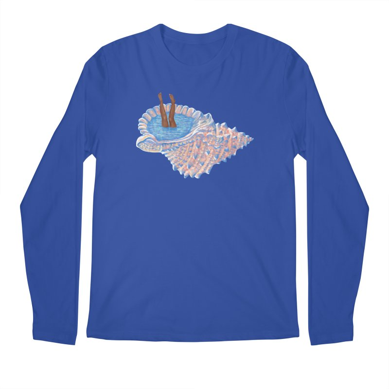 Hide Away Men's Longsleeve T-Shirt by Laura OConnor's Artist Shop