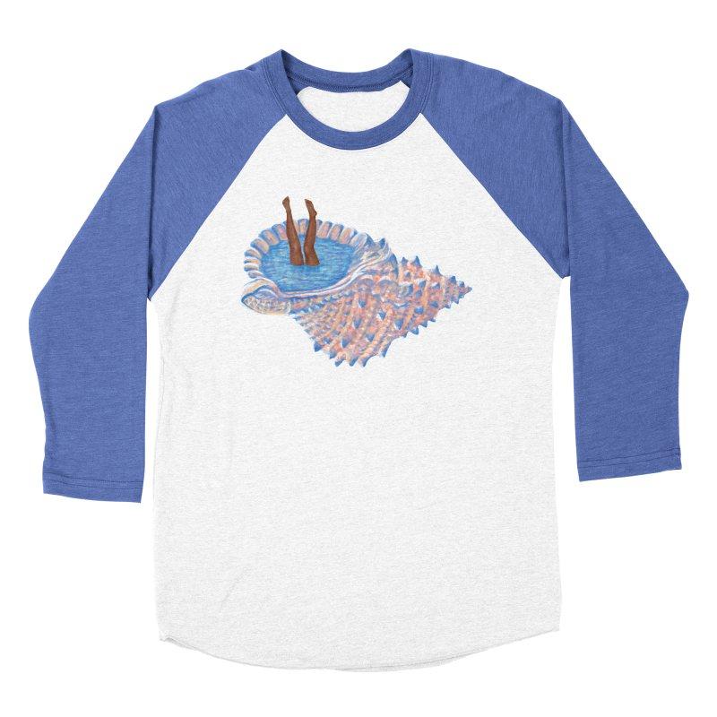 Hide Away Women's Baseball Triblend T-Shirt by Laura OConnor's Artist Shop