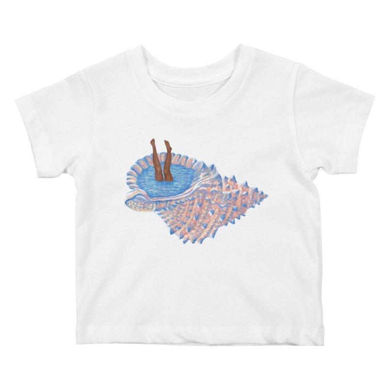 Hide Away Kids Baby T-Shirt by Laura OConnor's Artist Shop