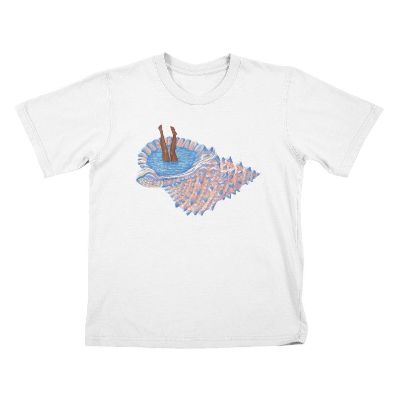 Hide Away Kids T-Shirt by Laura OConnor's Artist Shop