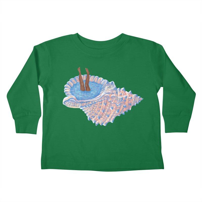 Hide Away Kids Toddler Longsleeve T-Shirt by Laura OConnor's Artist Shop
