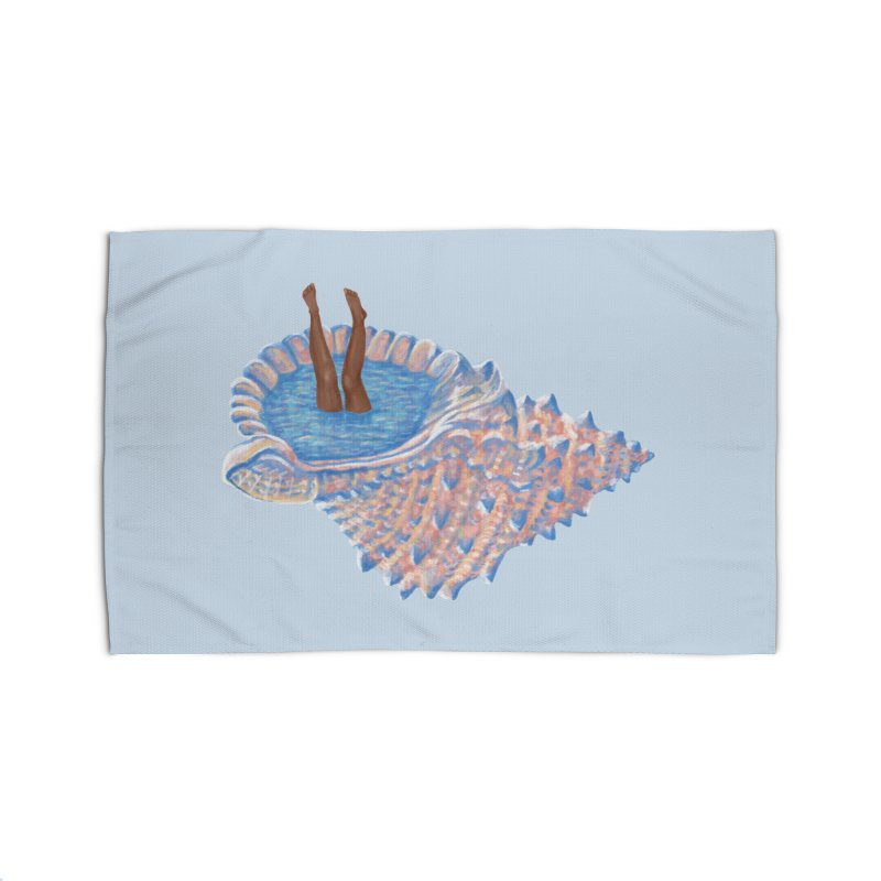 Hide Away Home Rug by Laura OConnor's Artist Shop