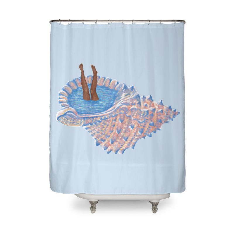 Hide Away Home Shower Curtain by Laura OConnor's Artist Shop