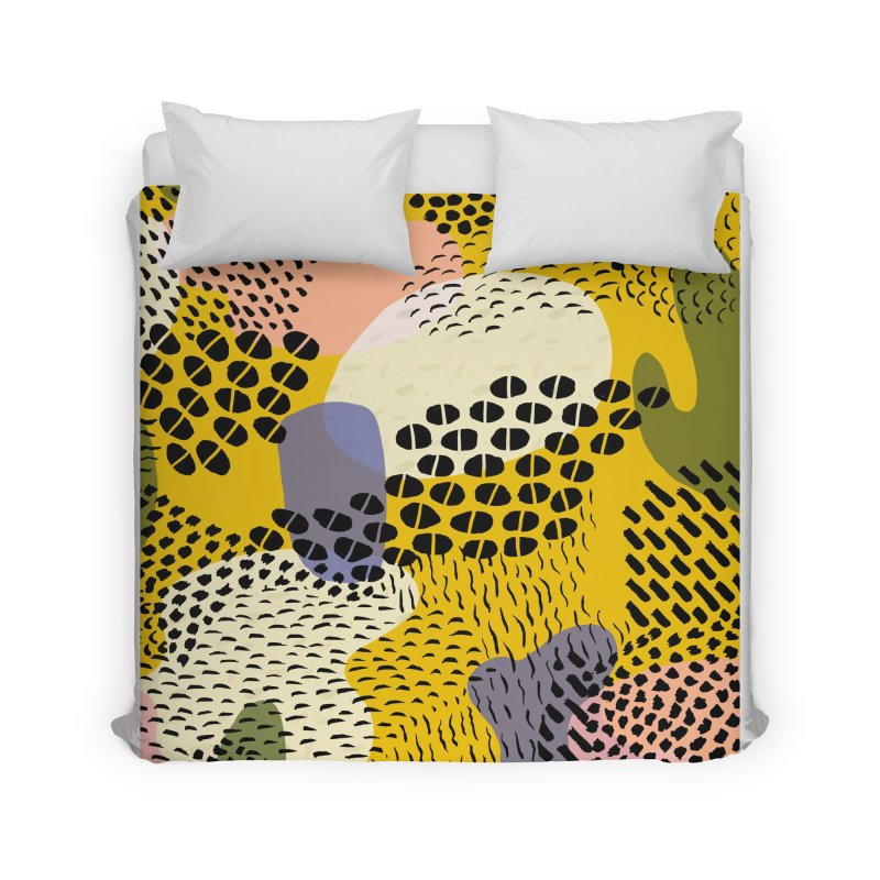 Piña Colada Home Duvet by Laura OConnor's Artist Shop
