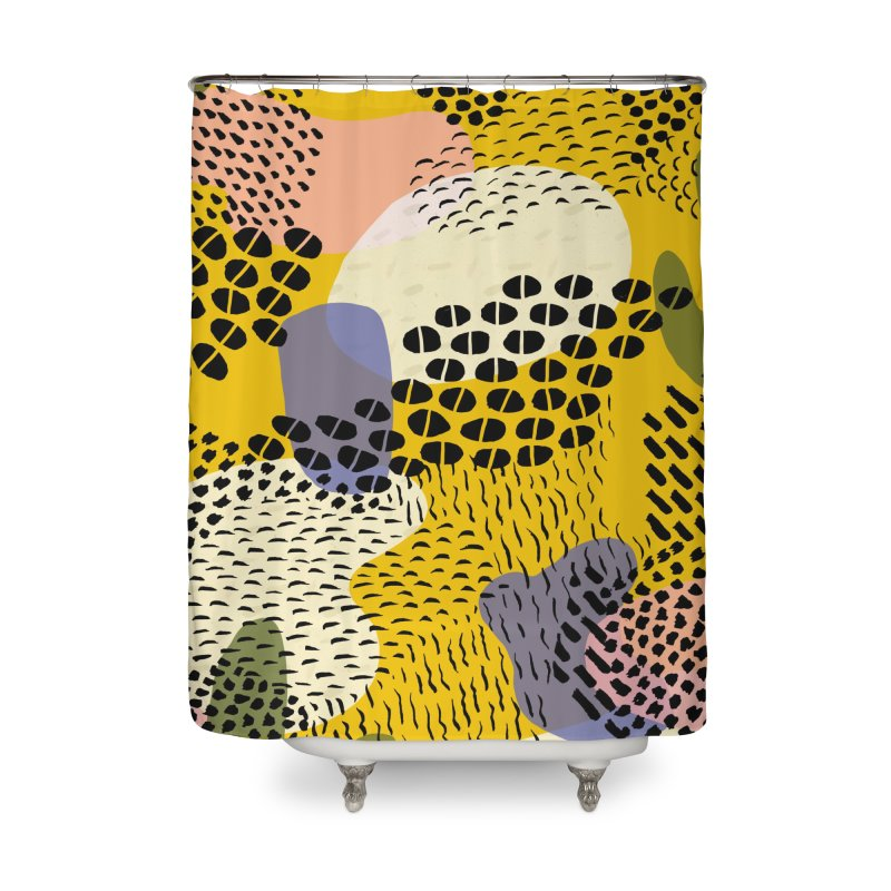Piña Colada Home Shower Curtain by Laura OConnor's Artist Shop