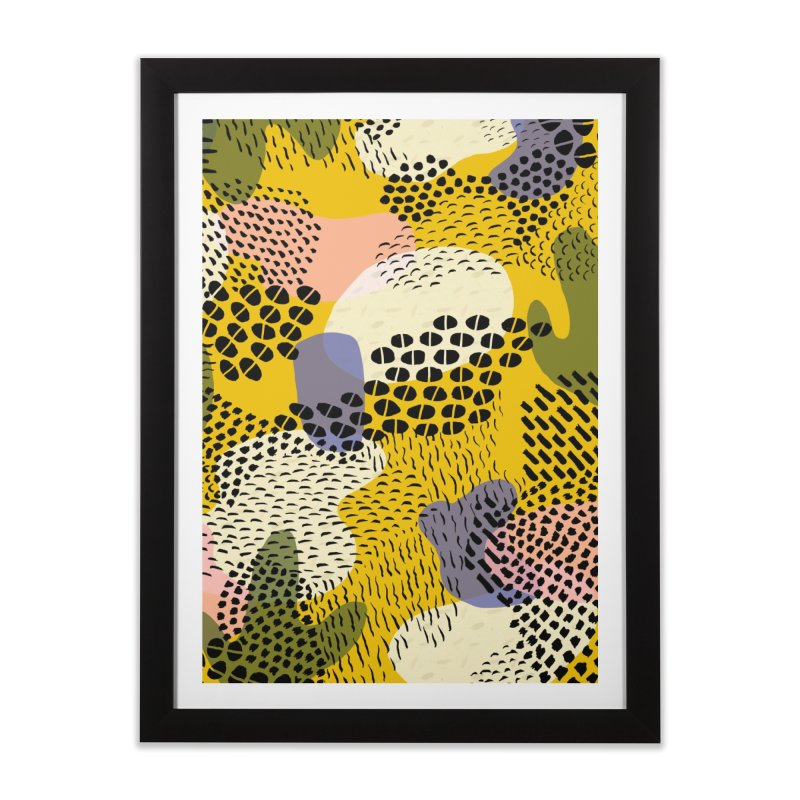 Piña Colada Home Framed Fine Art Print by Laura OConnor's Artist Shop