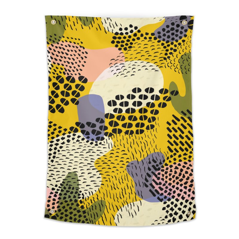 Piña Colada Home Tapestry by Laura OConnor's Artist Shop