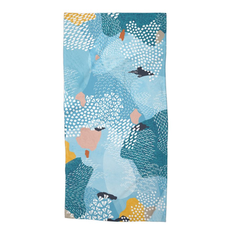Calm Accessories Beach Towel by Laura OConnor