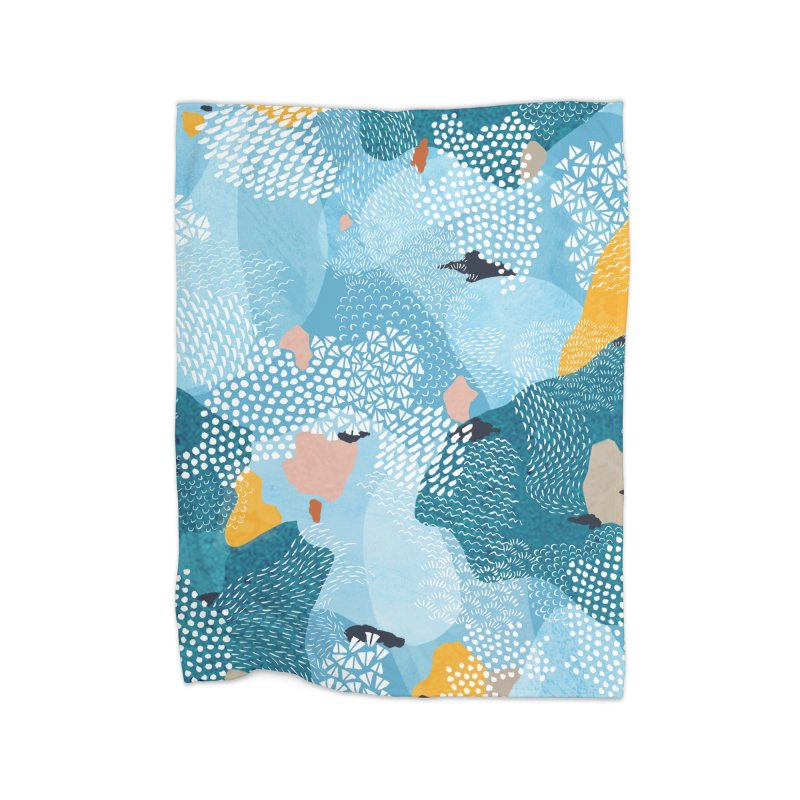 Calm Home Blanket by Laura OConnor's Artist Shop