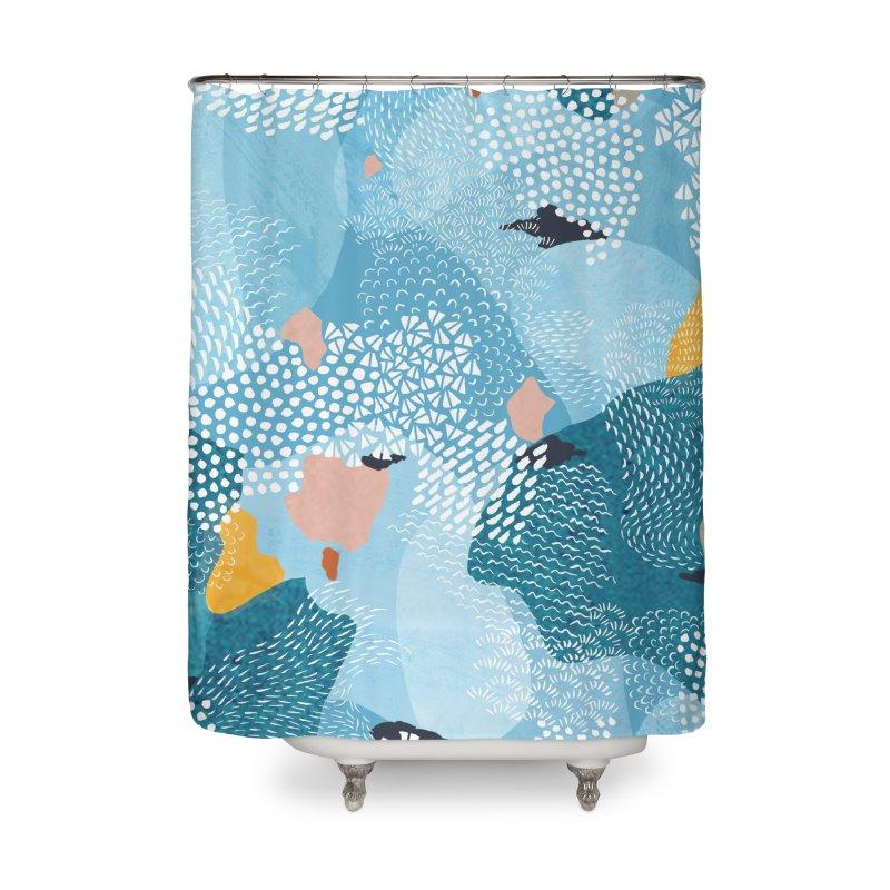 Calm Home Shower Curtain by Laura OConnor's Artist Shop