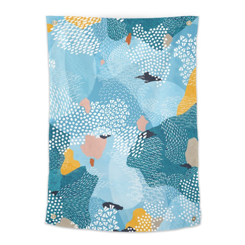 Calm Home Tapestry by Laura OConnor's Artist Shop