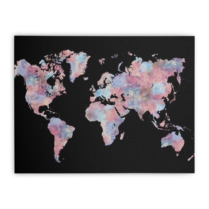 Wanderlust Home Stretched Canvas by Laura OConnor's Artist Shop