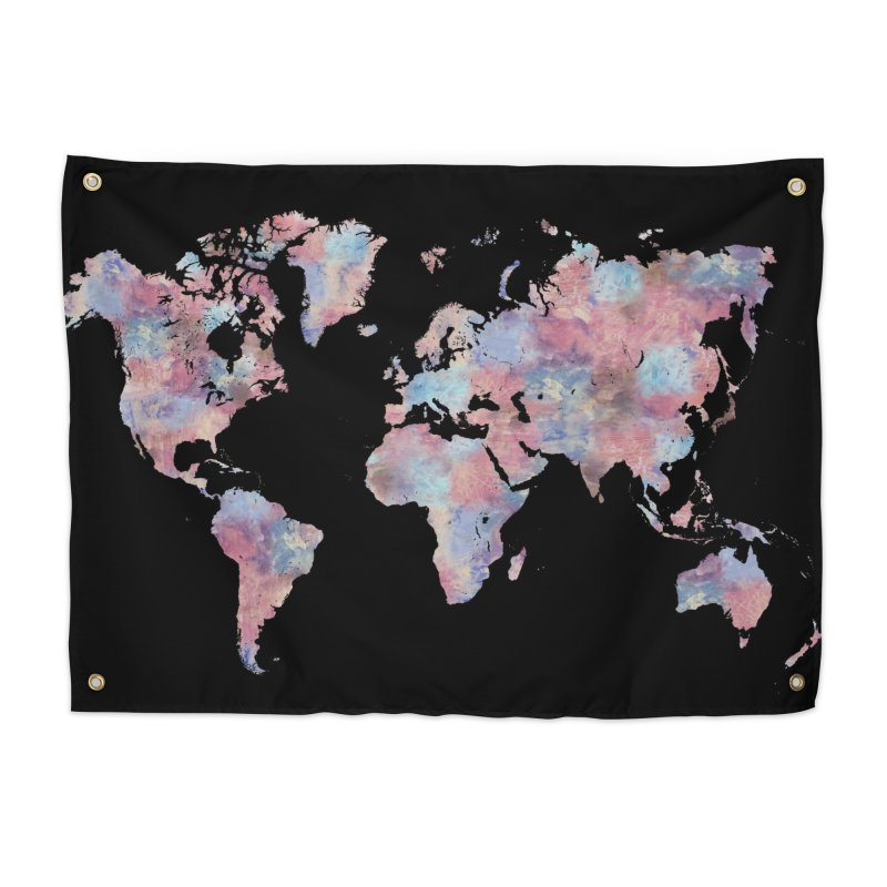 Wanderlust Home Tapestry by Laura OConnor's Artist Shop