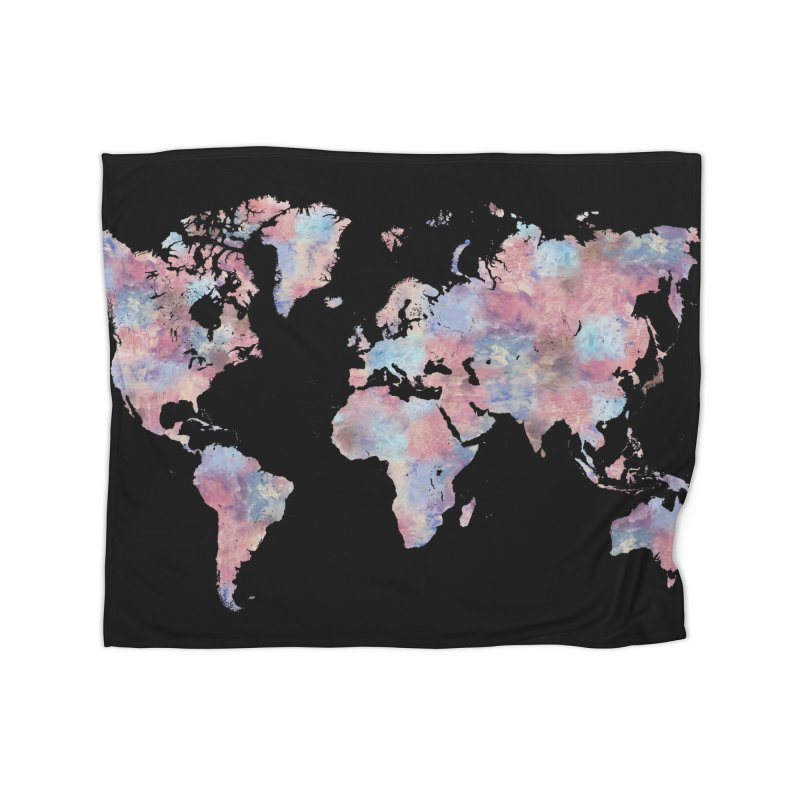 Wanderlust Home Blanket by Laura OConnor's Artist Shop