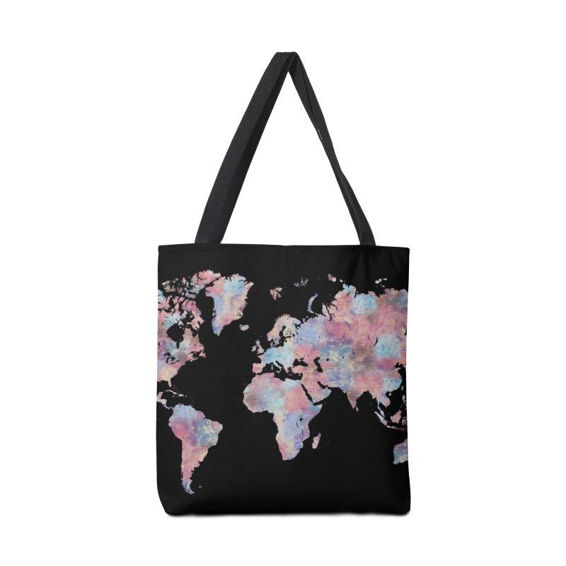 Wanderlust Accessories Bag by Laura OConnor's Artist Shop