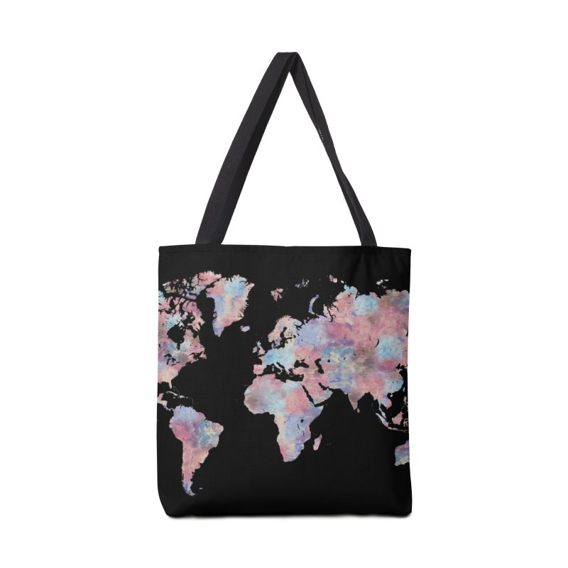 Wanderlust Accessories Bag by Laura OConnor's Artist Shop