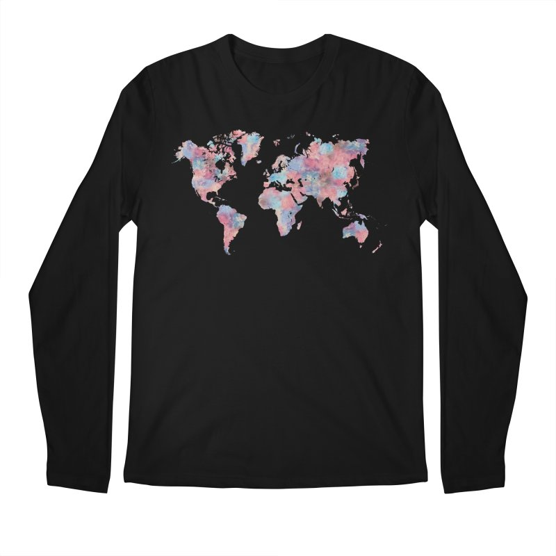 Wanderlust Men's Longsleeve T-Shirt by Laura OConnor's Artist Shop