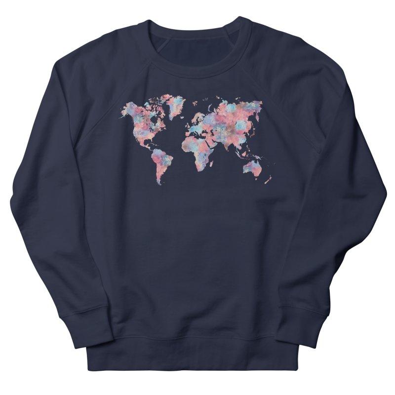 Wanderlust Women's French Terry Sweatshirt by Laura OConnor's Artist Shop