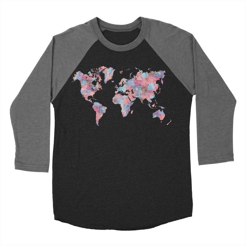 Wanderlust Women's Baseball Triblend T-Shirt by Laura OConnor's Artist Shop