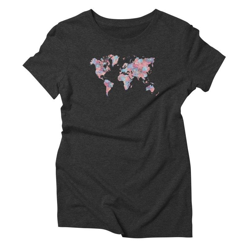Wanderlust Women's Triblend T-Shirt by Laura OConnor's Artist Shop