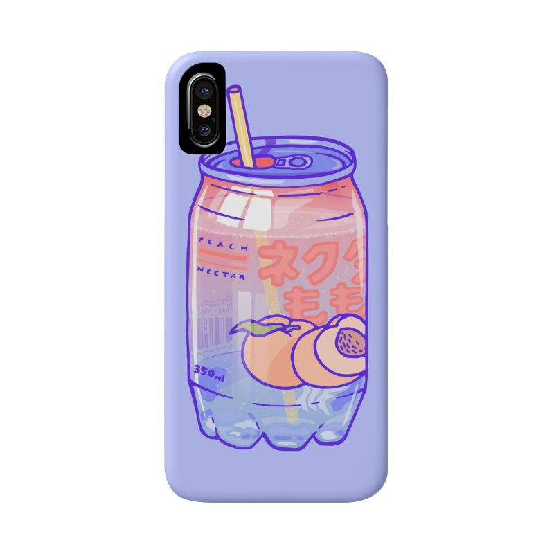 Peach Bubbles Accessories Phone Case by Laura OConnor's Artist Shop