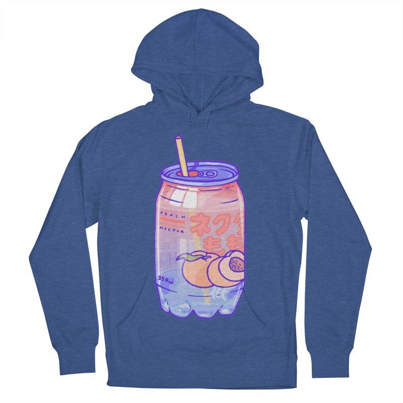 Peach Bubbles Men's Pullover Hoody by Laura OConnor's Artist Shop