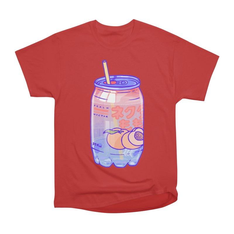 Peach Bubbles Women's Classic Unisex T-Shirt by Laura OConnor's Artist Shop