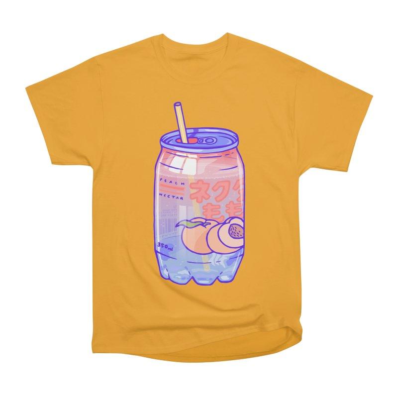 Peach Bubbles Men's Classic T-Shirt by Laura OConnor's Artist Shop