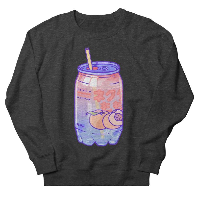 Peach Bubbles Men's Sweatshirt by Laura OConnor's Artist Shop
