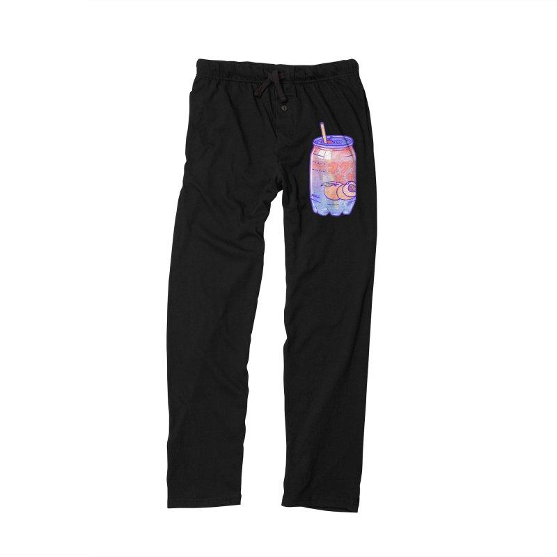 Peach Bubbles Men's Lounge Pants by Laura OConnor's Artist Shop