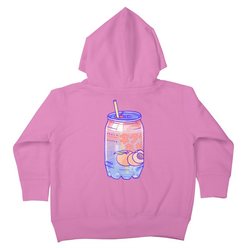 Peach Bubbles Kids Toddler Zip-Up Hoody by Laura OConnor's Artist Shop