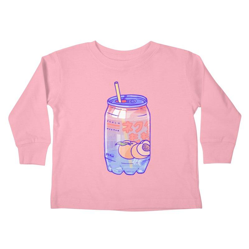Peach Bubbles Kids  by Laura OConnor's Artist Shop