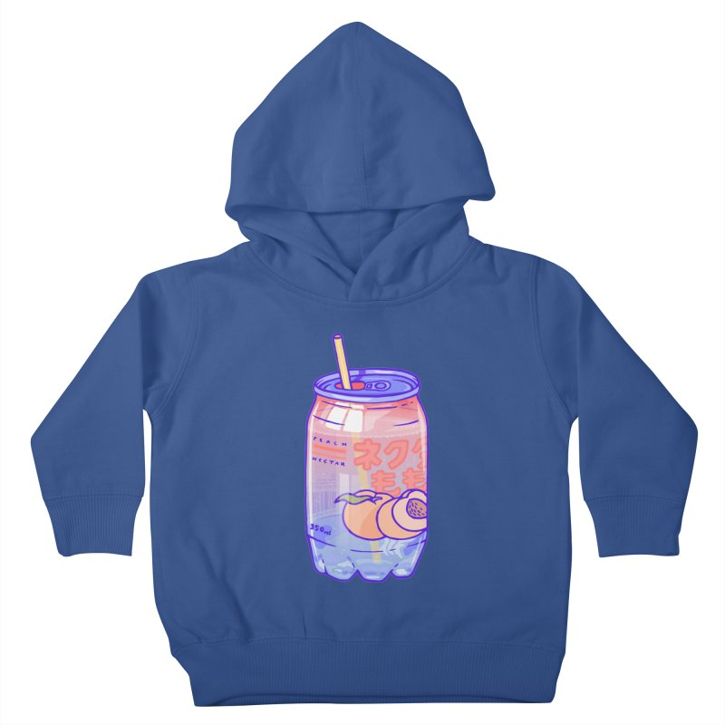 Peach Bubbles Kids Toddler Pullover Hoody by Laura OConnor's Artist Shop