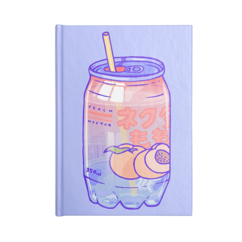 Peach Bubbles Accessories Notebook by Laura OConnor's Artist Shop