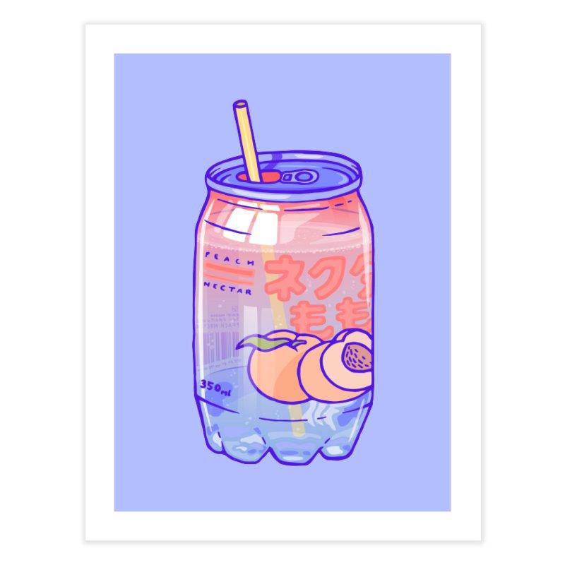 Peach Bubbles Home Fine Art Print by Laura OConnor