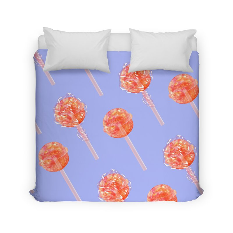 Sunshine Sucker Home Duvet by Laura OConnor's Artist Shop