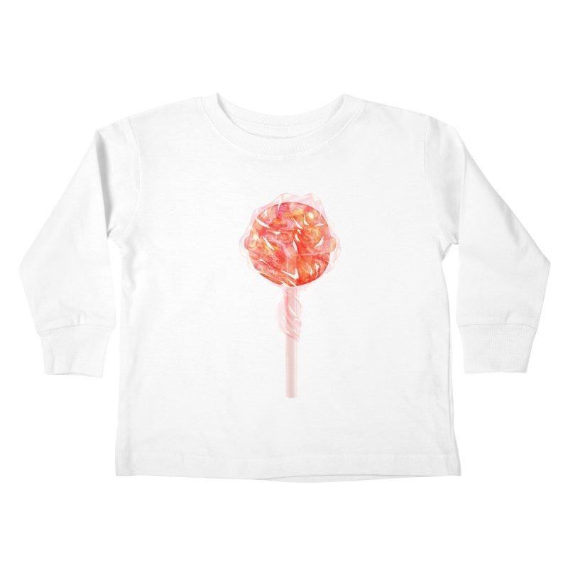 Sunshine Sucker Kids Toddler Longsleeve T-Shirt by Laura OConnor's Artist Shop