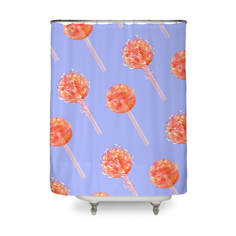 Sunshine Sucker Home Shower Curtain by Laura OConnor