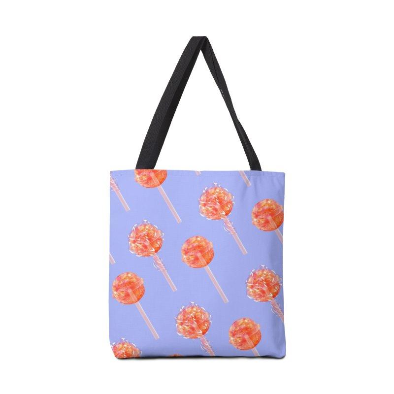 Sunshine Sucker Accessories Bag by Laura OConnor