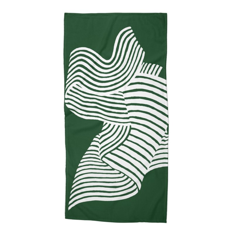 Movement Accessories Beach Towel by Laura OConnor's Artist Shop