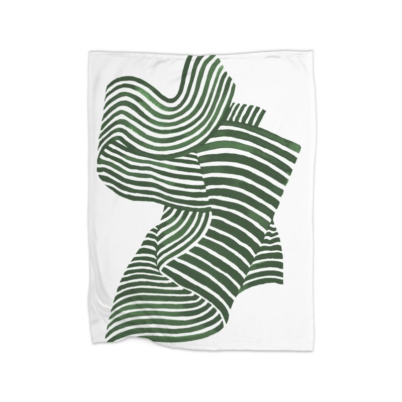 Movement Home Blanket by Laura OConnor's Artist Shop