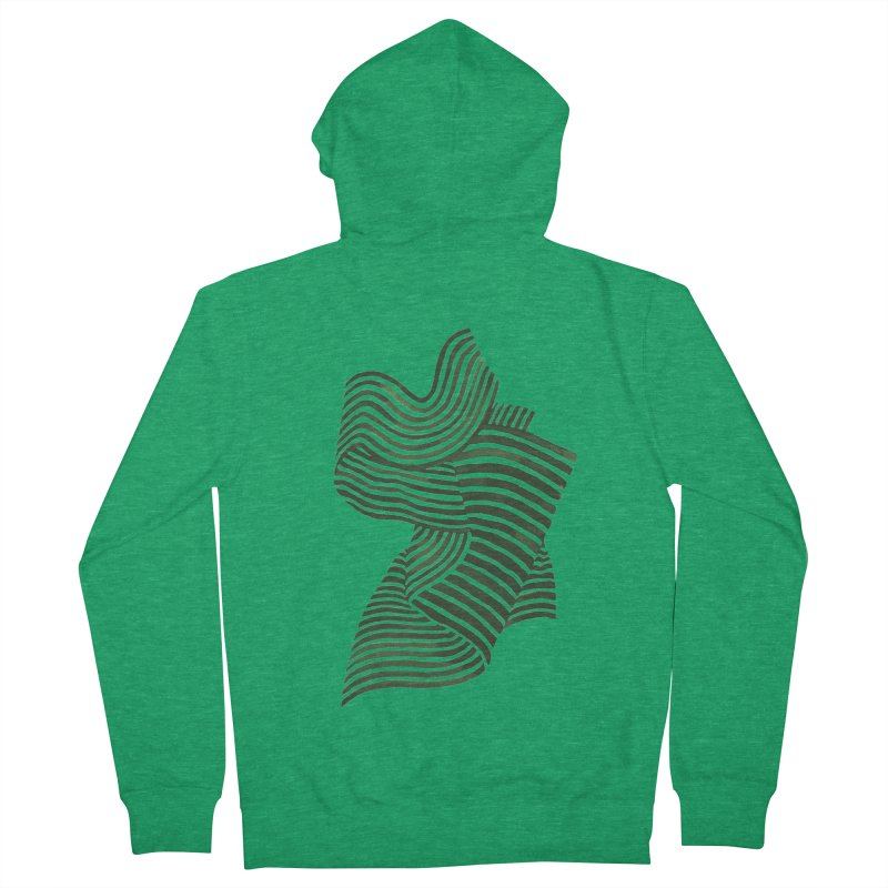 Movement Men's French Terry Zip-Up Hoody by Laura OConnor