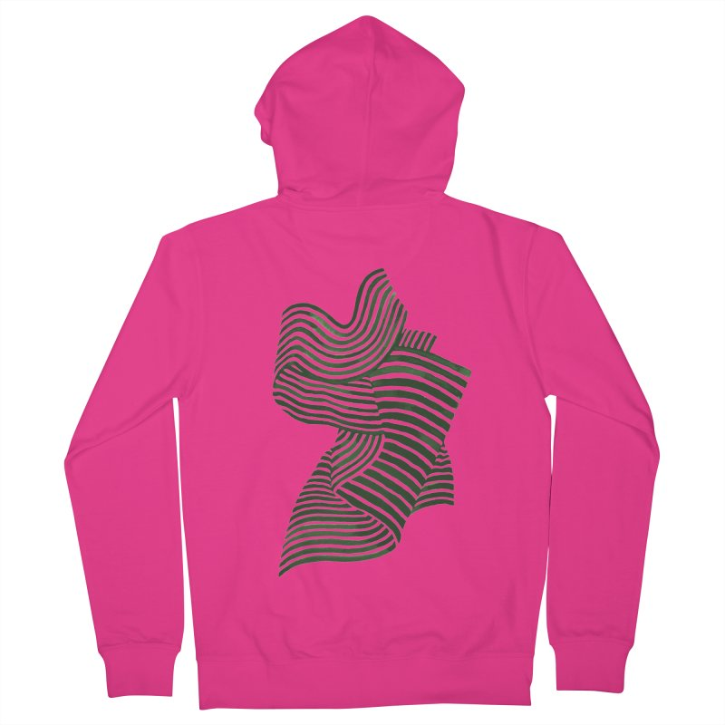 Movement Men's French Terry Zip-Up Hoody by Laura OConnor's Artist Shop