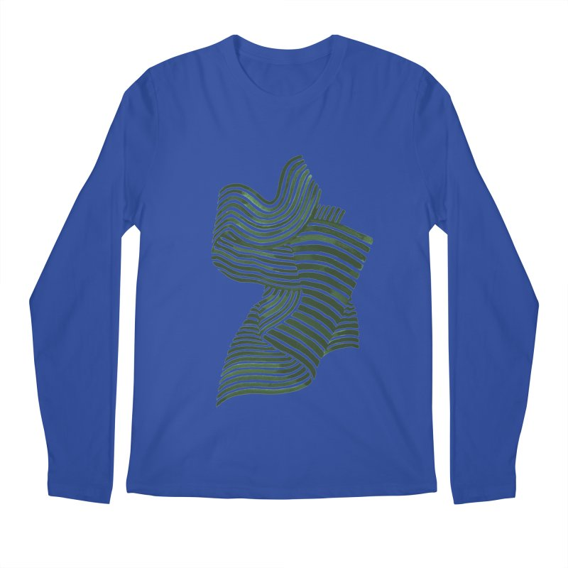 Movement Men's Longsleeve T-Shirt by Laura OConnor's Artist Shop