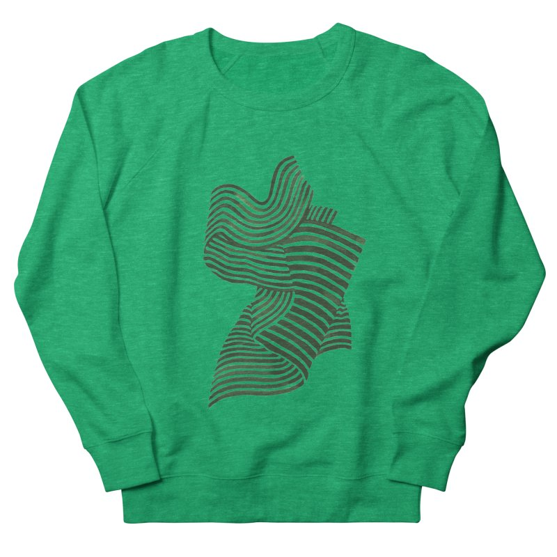 Movement Women's French Terry Sweatshirt by Laura OConnor's Artist Shop