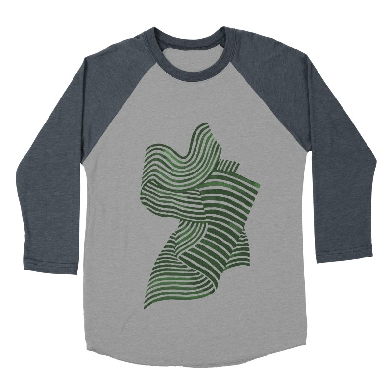Movement Men's Baseball Triblend Longsleeve T-Shirt by Laura OConnor's Artist Shop