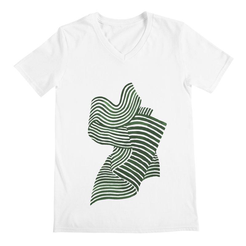 Movement Men's V-Neck by Laura OConnor's Artist Shop