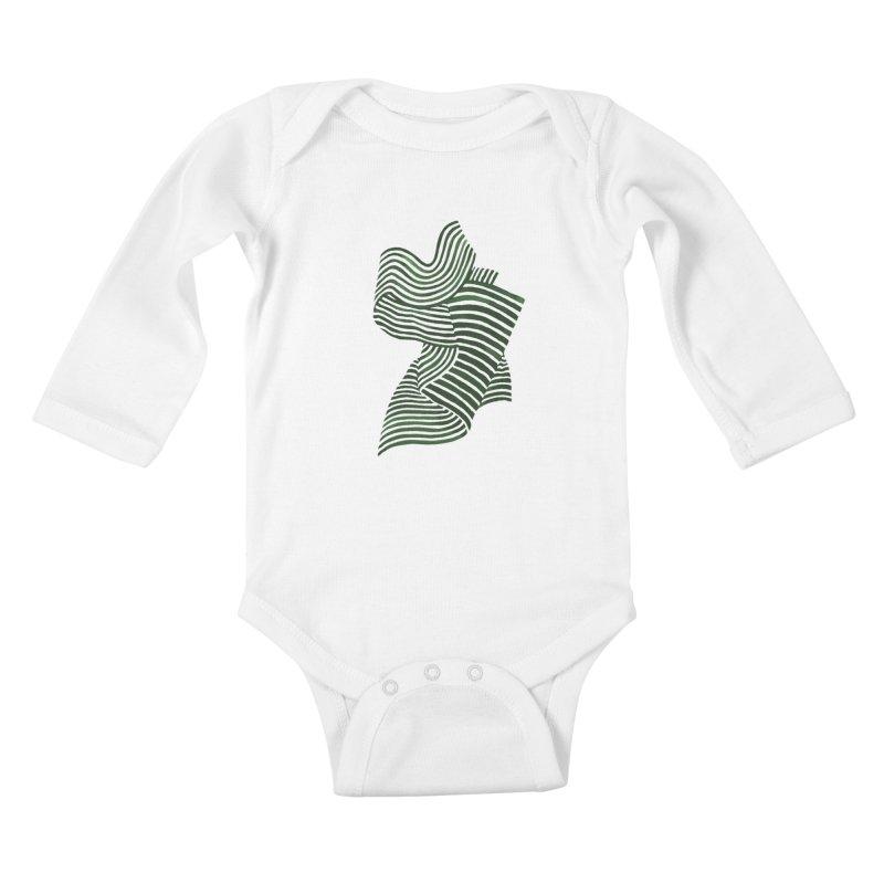 Movement Kids Baby Longsleeve Bodysuit by Laura OConnor's Artist Shop