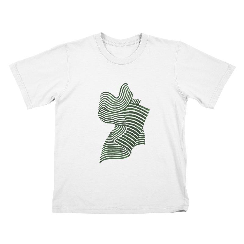 Movement Kids T-Shirt by Laura OConnor's Artist Shop